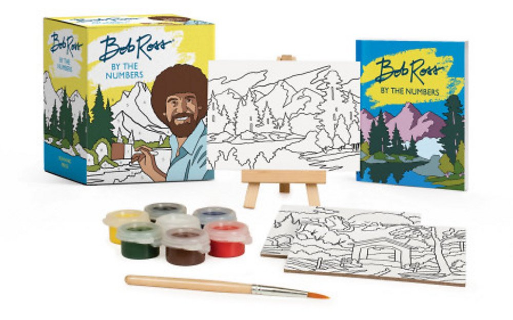 Bob Ross Paint-By-Numbers