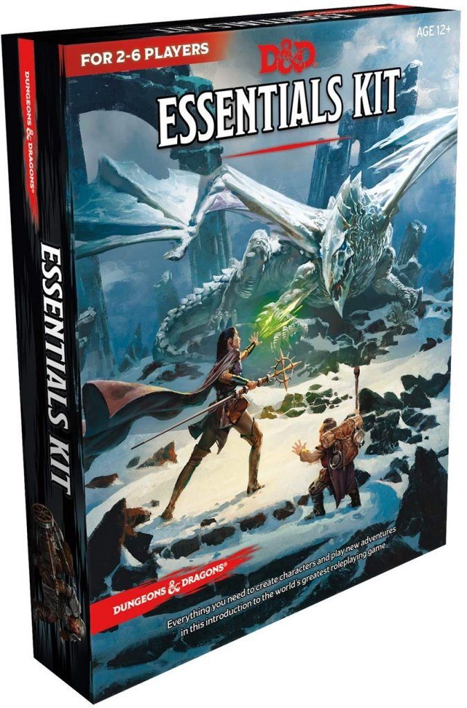 dungeons and dragons essential box kit
