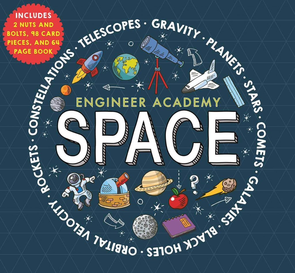Engineer Academy: Space book cover